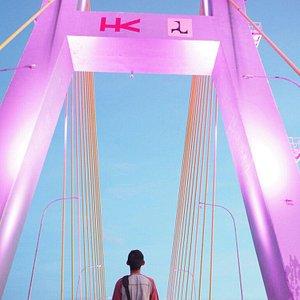Soekarno Bridge Manado.