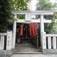 大松稲荷神社 入口鳥居