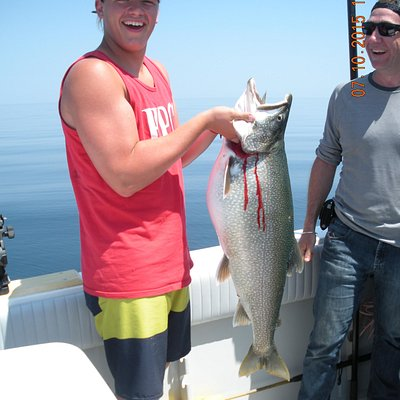 Great fishing with Rainbow Charters