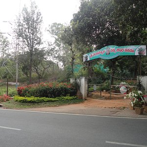 One of the many TTD gardens