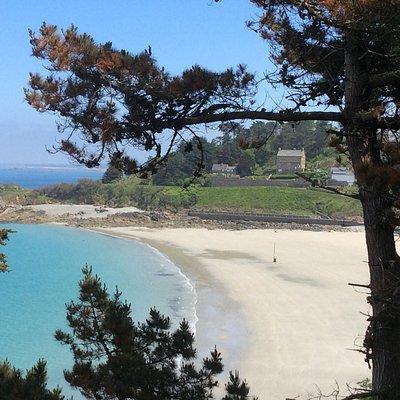 La magnifique plage de Trestignel