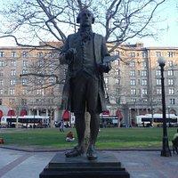 John Singleton Copley Statue.