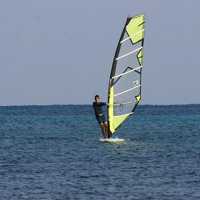 Learn how to windsurf with a SUPaire instructor