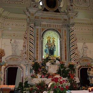 Altare, santuario Madonna di Polsi