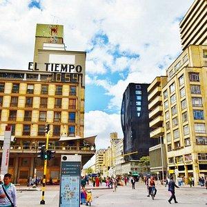 ボゴタの繁華街