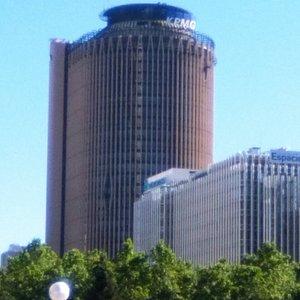 Torre de negocios.
