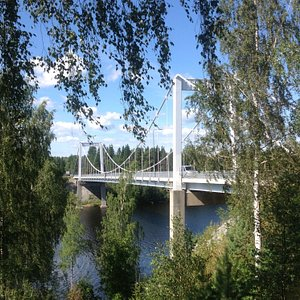 Мост, при строительстве которого был найден Пурсиалан хиденкирну или Миккелийский провал