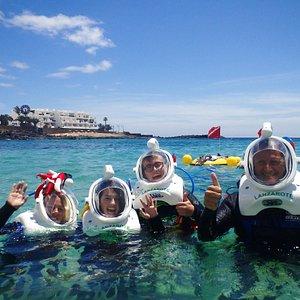 Sea Trek Lanzarote