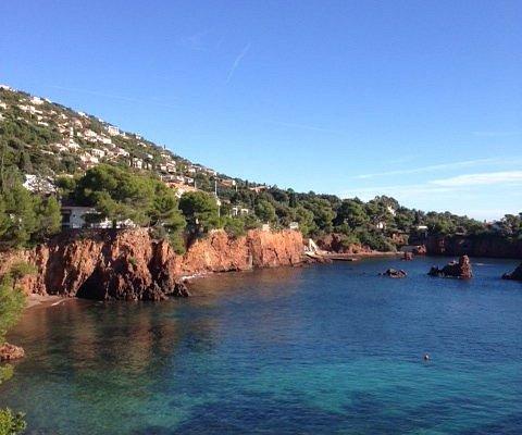 Calanque du Petit Caneiret: неимоверное красота и окрестностях Сен- Рафаэля..