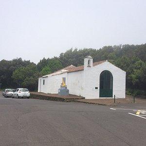 La ermita actual que ha sido reformada y ampliada.