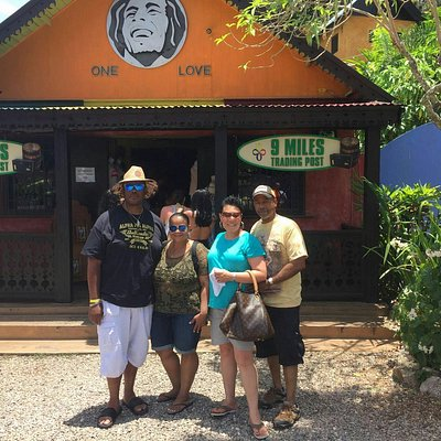 On tour yesterday we visit the bob marley foundation in nine mile, then a little tour of kingsto