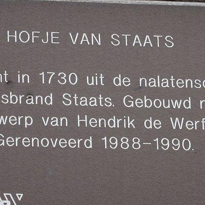 Hofje van Staats;juni 2016 Haarlem info