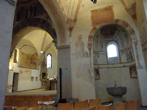 Fresken aus dem 11. und 15. Jahrhundert