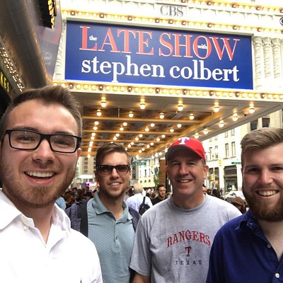 We went to the Late Show, and they told us all the seats were great.  However, if you get stuck