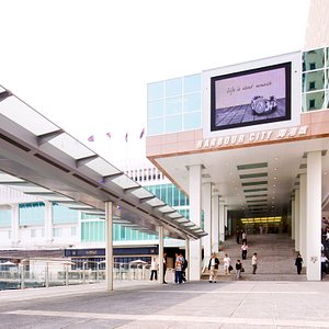 Ocean Terminal and forecourt