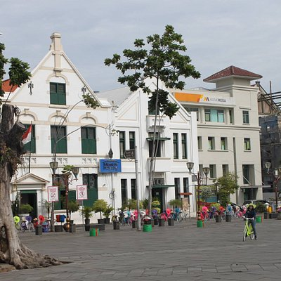 First Stop - oldest building in Jakarta