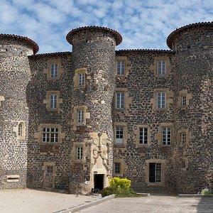 Le chateau du Monastier: musée au rdc