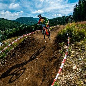 Bike trail Kouty