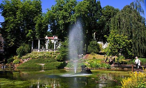 Parks in Marianske Lazne