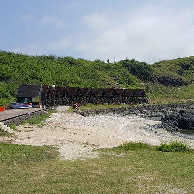 魚月鯉灣遊憩區有木製露營區