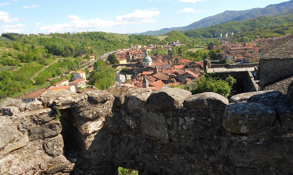 panorama di Pontremoli dal castello del Piagnaro