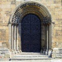 A Norman doorway