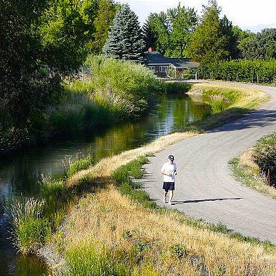 what the canal trail used to look like