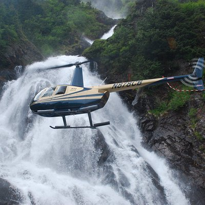 ...Exclusive access to Totem Falls