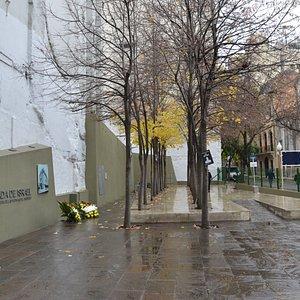 Vista general de la Plaza y calles circundantes