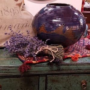 Large Lavender Otto & Vivika Heino Vase