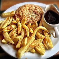 pie and chips