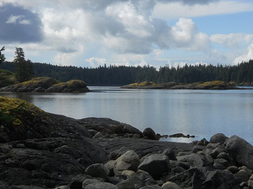 Gowlland Harbor on Quadra Island.