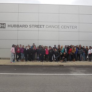 Students taking DANCE at HSDC!