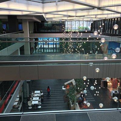 The New Babylon shopping centre (taken from the 2nd floor)
