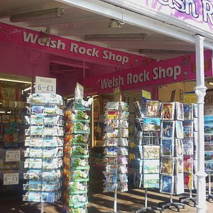 Welsh Rock Shop, Llandudno