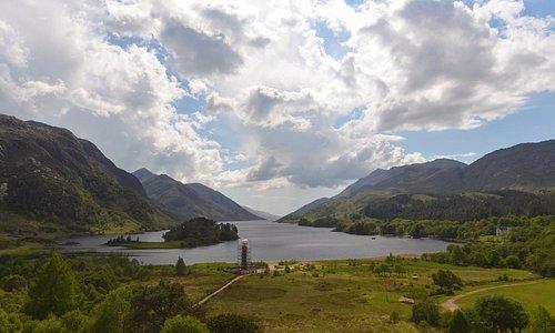 Beautiful Loch Shiel.