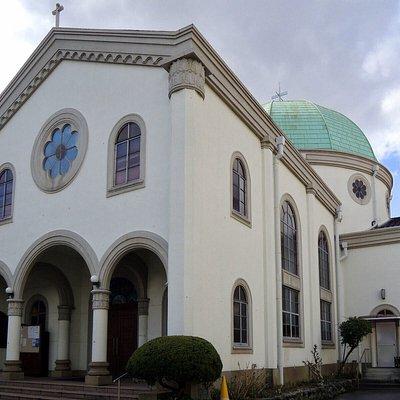 高槻市の高山右近記念聖堂