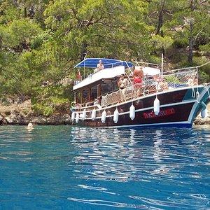 Akarsuboat trips Fethiye