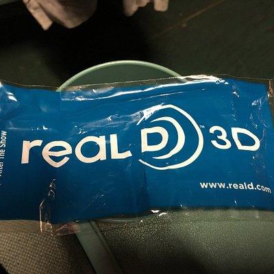 Kleines altes Kino - sogar real D 3D