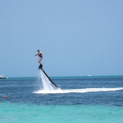 Vol avec Flyboard Mexico