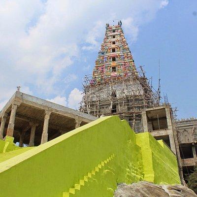One of the view of Mahadeva Malai Shiva's Temple