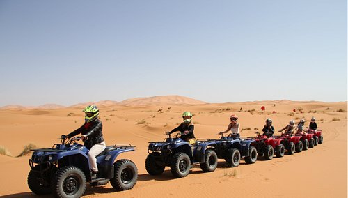 Sahara quad excursions in Merzouga