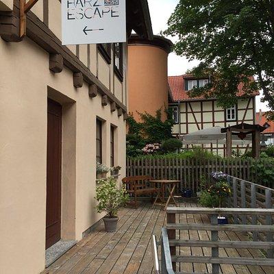 Mitten in der Altstadt, stilvoll im Fachwerkhaus.