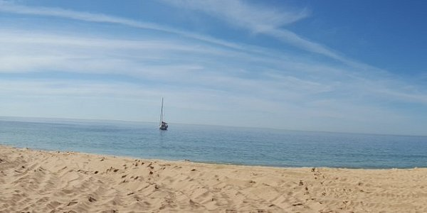 Marta beach panorama