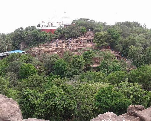 The complete hill with temple