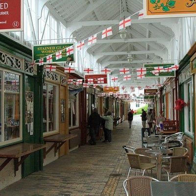 Inside Pannier Market