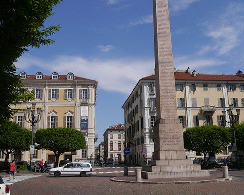 The obelisk in Piazza Savoia
