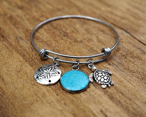 Alex and ani inspired Turks and Caicos Bracelet