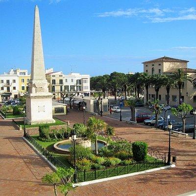 The Obelisk in Placa des Born