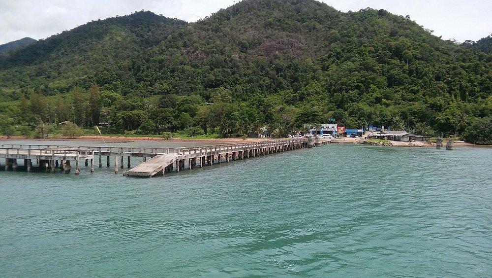 Vue depuis le ferry